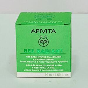 Apivita gel-bálsamo de noche Bee Radiant 50 ml - Farmacia y Ortopedia A2